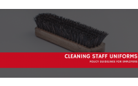 Cleaning Staff Uniform: Policy Guidelines For Employers