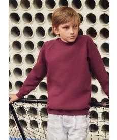 Fruit Of The Loom Children's Classic Raglan Sweatshirt