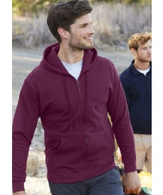 Fruit Of The Loom Men's Classic Hooded Sweat Jacket