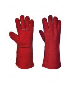Portwest Welders Gauntlet - RED