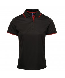 Premier Women's Contrast Coolchecker® Polo