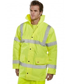 Xamax Heavy Weight Hi Vis Parka