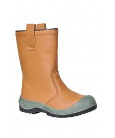 Portwest Steelite Rigger Boots S1P CI (With scuff cap)