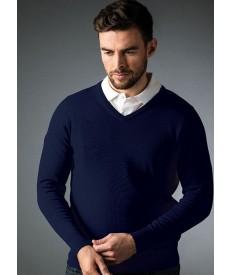 Glenmuir V Neck Cotton Sweater