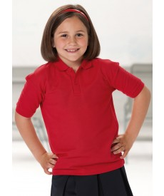 Jerzees Schoolgear Kids Poly/Cotton Pique Polo Shirt