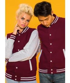 Just Hoods By AWDis Varsity Jacket