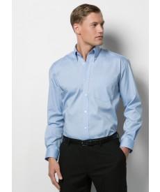Kustom Kit Men's Long Sleeve Corporate Oxford Shirt