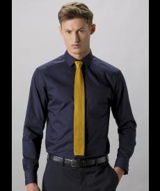 Kustom Kit Men's Long Sleeve Poplin Shirt