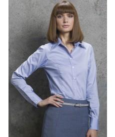 Kustom Kit Ladies' Corporate Long Sleeve Oxford Shirt