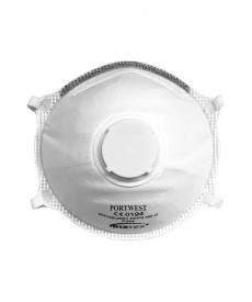 Portwest FFP3 Valved Dolomite Light Cup Respirator (10 Per Box)