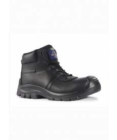 Rock Fall Baltimore Leather Fully Waterproof Non-Metallic Boot
