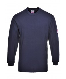 Portwest Flame Resistant AntiStatic Long Sleeve T-Shirt