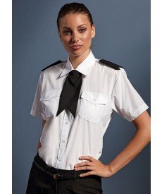 Premier Women's Short Sleeve Pilot Blouse