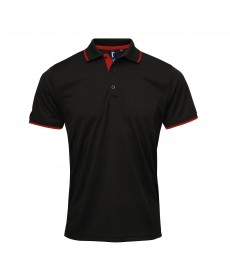 Premier Contrast Coolchecker® Polo