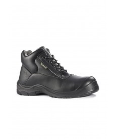 Rock Fall Rhodium Chemical Resistant Safety Boots