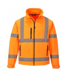 Portwest Hi-Vis Classic Softshell Jacket