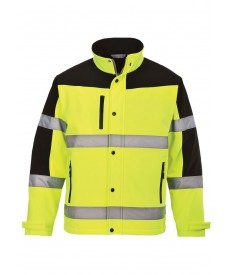 Portwest Hi-Vis Two Tone Softshell Jacket
