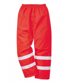 Portwest Hi-Vis Traffic Overtrousers (GO/RT compliant)