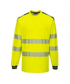 Portwest PW3 Long-sleeved Hi-Vis T-Shirt