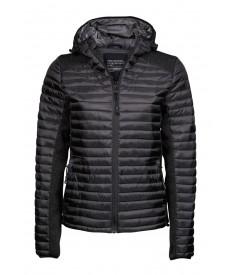 Tee Jays Ladies Hooded Aspen Crossover Jacket