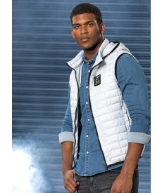 2786 Honeycomb Hooded Gilet