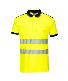 Portwest PW3 Hi-Vis Polo Shirt S/S