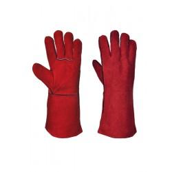 Image of Portwest Welders Gauntlet - RED