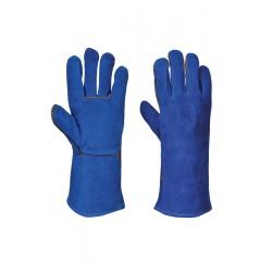 Image of Portwest Welders Gauntlet - BLUE