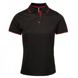 Photo of a Premier Women's Contrast Coolchecker® Polo