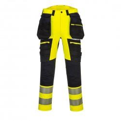 Photo of a Portwest DX4 Hi-Vis Trouser with Detachable Holster Pockets