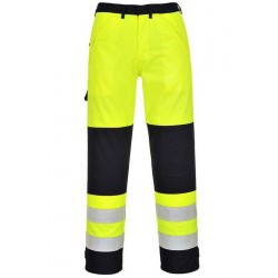 Image of Portwest Bizflame Hi-Vis Multi-Norm Trousers