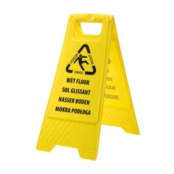 Photo of a Portwest Euro Wet Floor Warning Sign