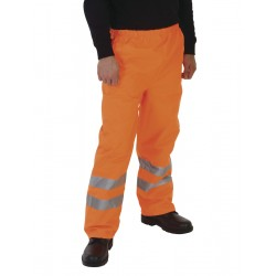 Image of Yoko Hi-Vis Waterproof Over Trouser