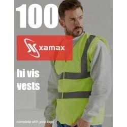 Image of 100 Hi Vis Vests & 1 Colour Print