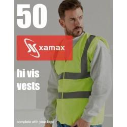 Photo of a 50 Hi Vis Vests & 1 Colour Print
