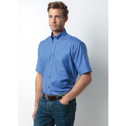 Photo of a Kustom Kit Men's Workwear Short Sleeve Oxford Shirt