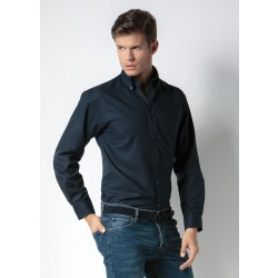 Image of Kustom Kit Men's Workwear Long Sleeve Oxford Shirt