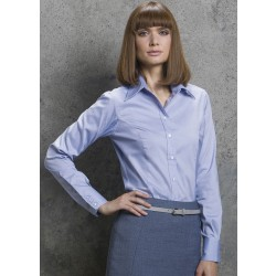 Image of Kustom Kit Ladies' Corporate Long Sleeve Oxford Shirt