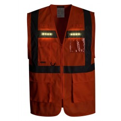 Photo of a Portwest Orion LED Executive Hi Vis Vest