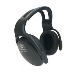 Photo of a Wenaas Earmuffs 24dB SNR Headband Black Ear Defenders