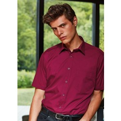 Image of Premier Short Sleeve Poplin Shirt