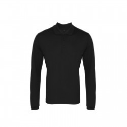 Photo of a Premier Long Sleeve Coolchecker® Piqué Polo