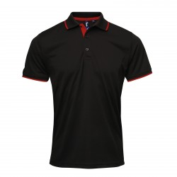 Photo of a Premier Contrast Coolchecker® Polo