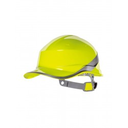 Photo of a Delta Plus Hi-Vis Baseball Safety Helmet