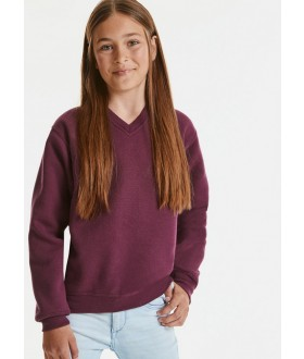 Jerzees Schoolgear Children's V-Neck Sweatshirt