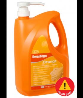 Swarfega® Orange 4L Pump Bottle - 4 pack