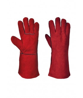 Portwest Welders Gauntlet - RED