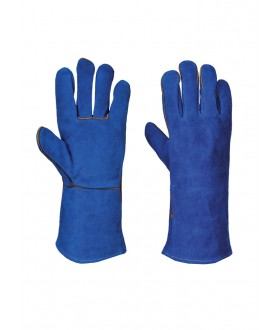 Portwest Welders Gauntlet - BLUE