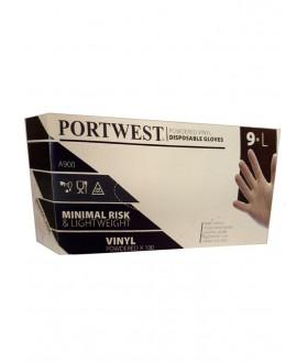 Portwest Powdered Vinyl Disposable Glove