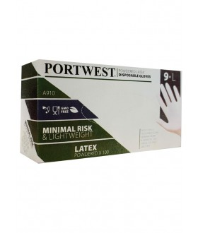 Portwest Powdered Latex Disposable Glove